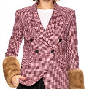 Veronica Beard Fahey Houndstooth Dicky jacket 6